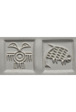 2 headed bird & Fish Stamp