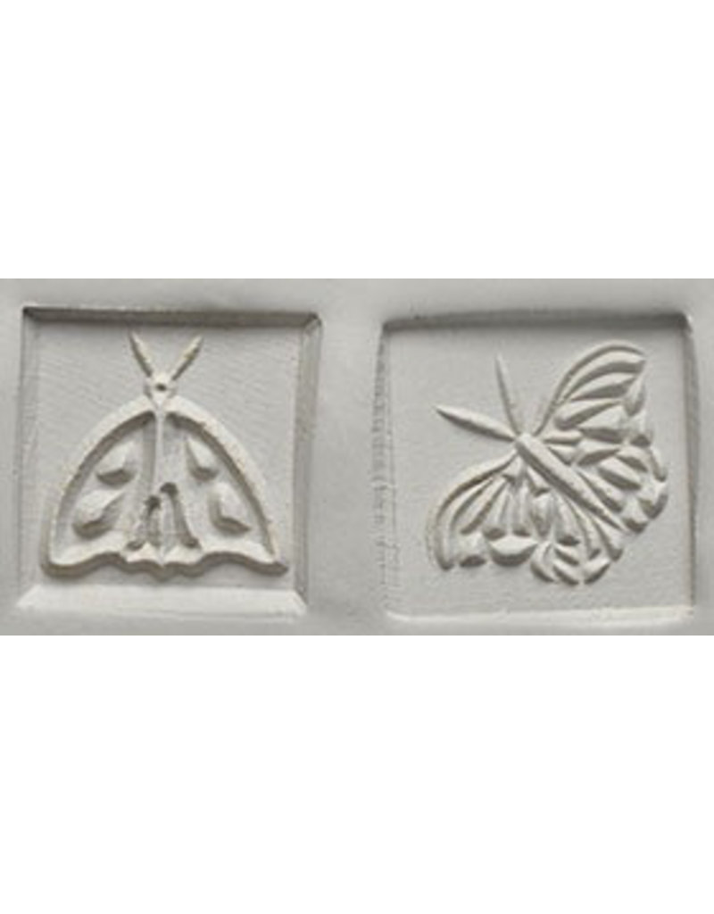 Moth & Butterfly Stamp