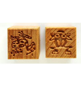 Frogs Stamp