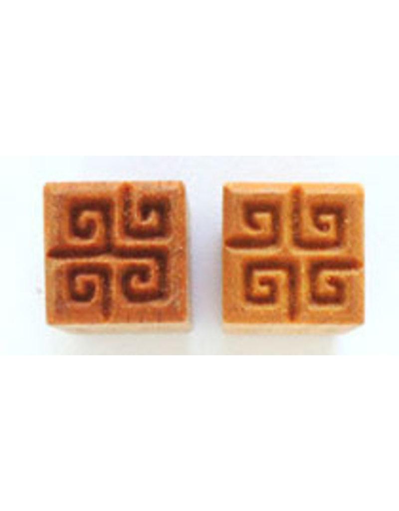 4 swirl Stamp