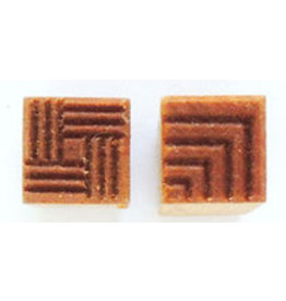 Corners & square design Stamp