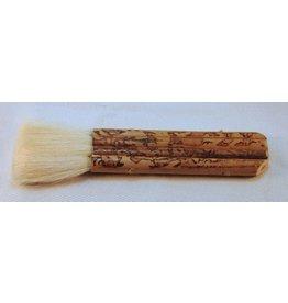 4 Pipe Bamboo Brush (Goat) 28mm