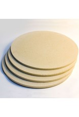 Corderite Kiln Shelf 47.9cm Diameter x 1.6cm thick