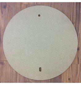 40cm pre drilled Round MDF Batt