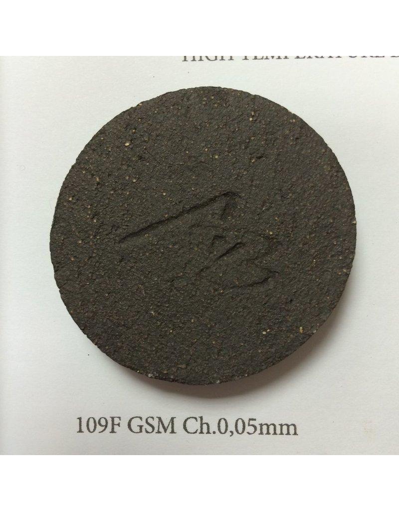 Argiles Bisbal Sanded Black Clay 12.5kg 1280˚C