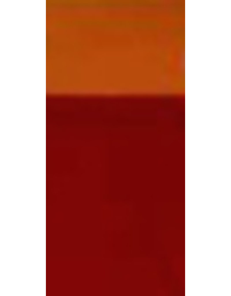 Orange/brown glaze stain