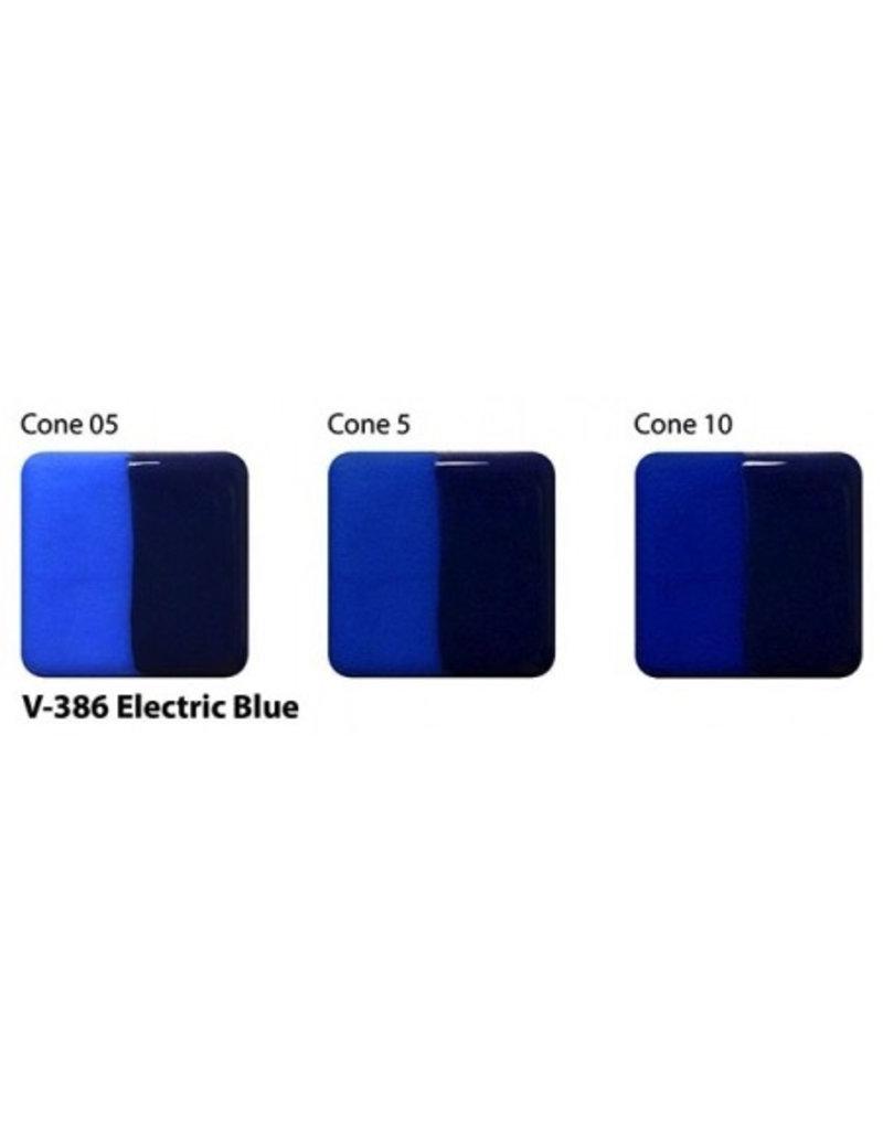 Amaco Amaco Velvet V386 Electric Blue underglaze 59ml