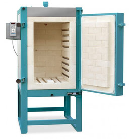 Rohde Rohde KE130B Electric frontloading kiln, furniture set and controller