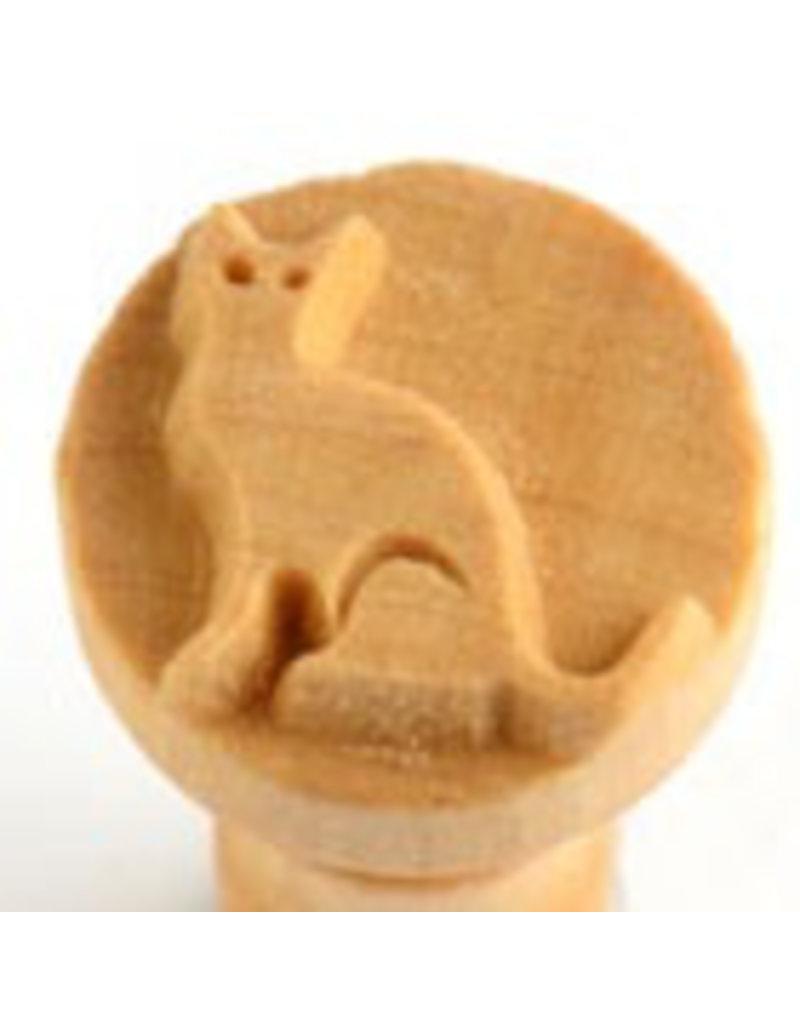 Cat stamp (2.5cm)