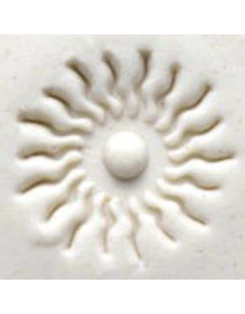Burning sun stamp (2.5cm)