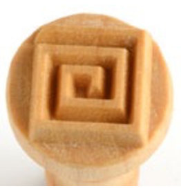 Square Coil stamp (2.5cm)