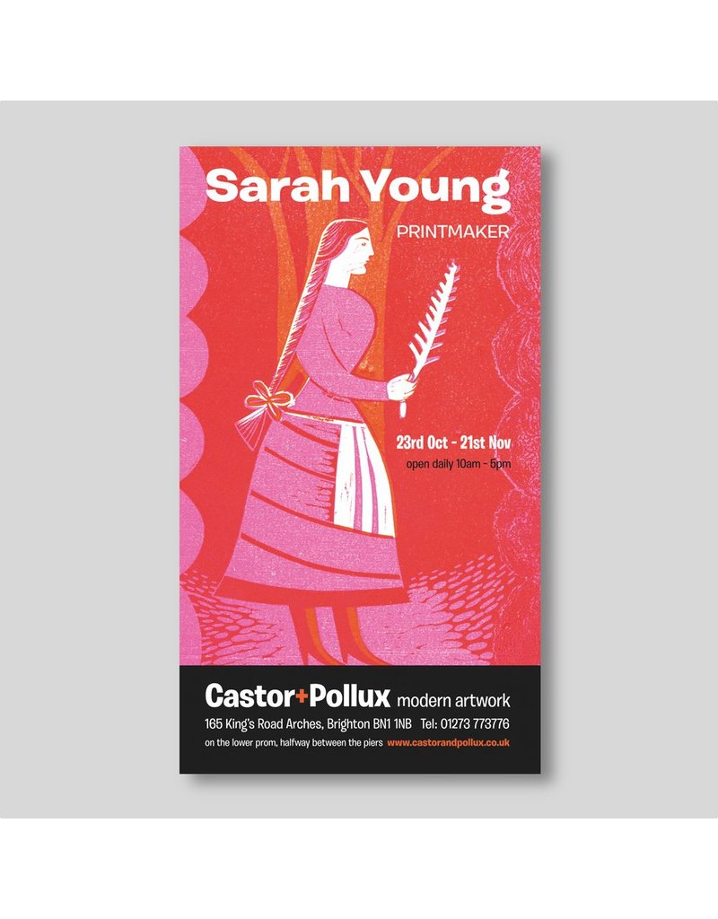 Sarah Young, exhibition poster