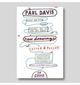 Paul Davis, exhibition poster<br />