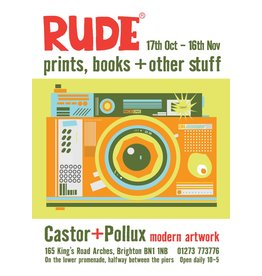 RUDE, exhibition poster