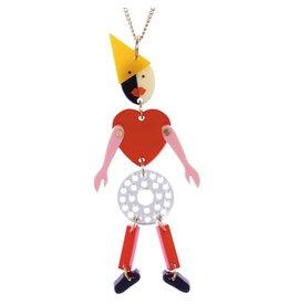 Avant-garde Robot Necklace