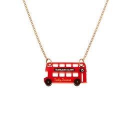 London Bus Necklace