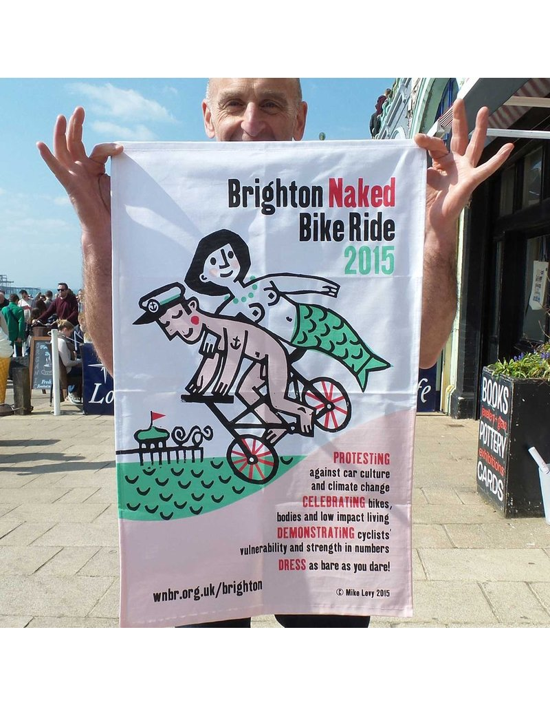 Brighton Naked Bike Ride 2015
