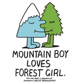 Mountain Boy Loves Forest Girl