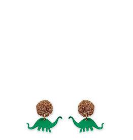 Apatosaurus Earrings