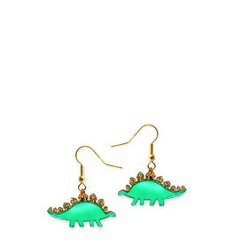 Stegosaurus Earrings