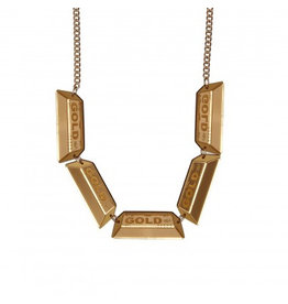 Gold Bullion Necklace