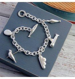 Coastline Charm Bracelet with 5 Charms