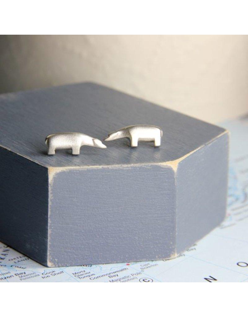 Polar Bear Stud Earrings (large)