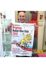 Brighton Naked Bike Ride 2016