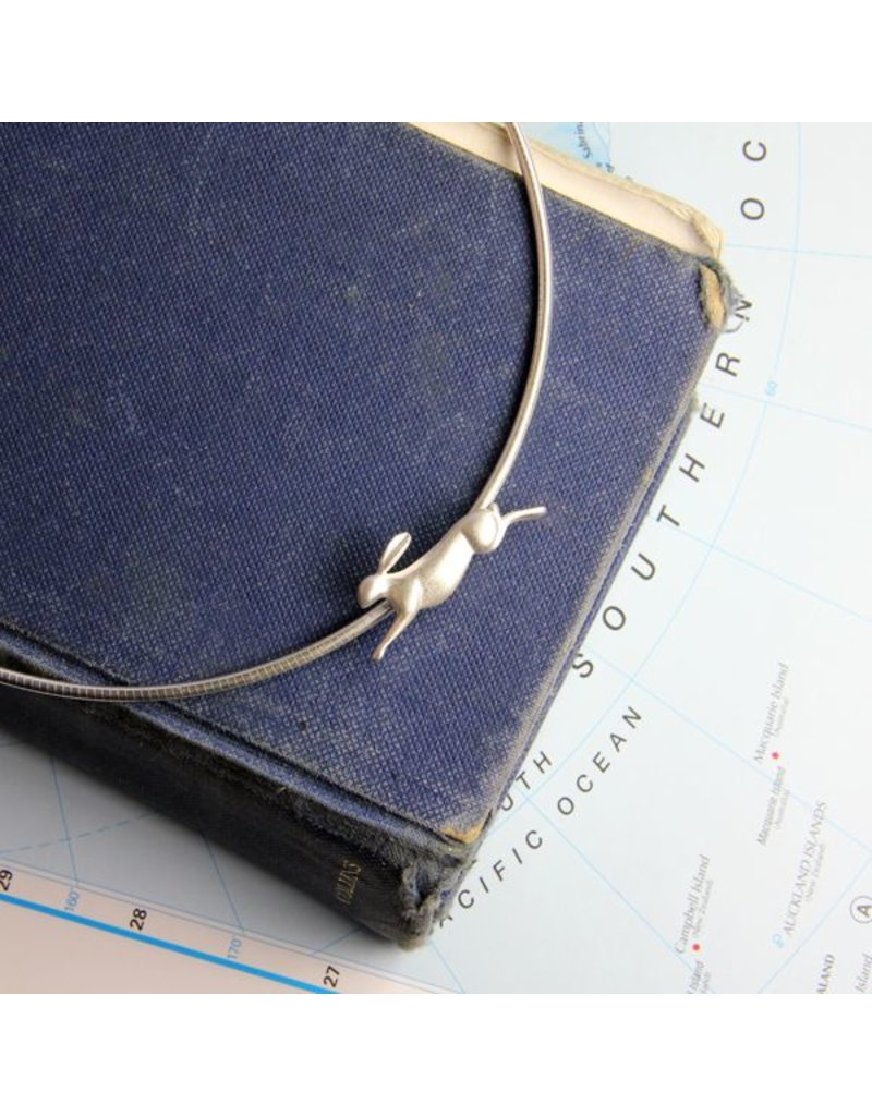 Arctic Hare Necklet