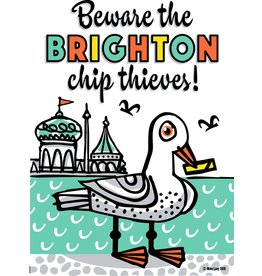 Beware the Brighton Chip Thieves, poster