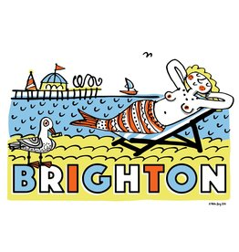 Brighton Mermaid, poster