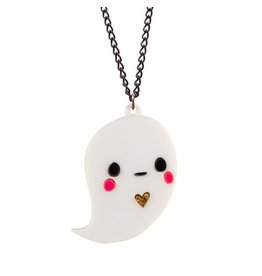 Doodllery Boo The Ghost Necklace