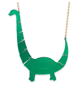 Jurassica Large Apatosaurus Necklace