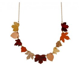 Autumn Leaves Large Necklace