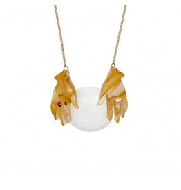 Fortune Teller Hands Necklace