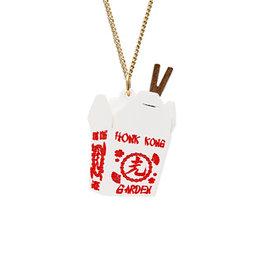 Takeaway Box Necklace