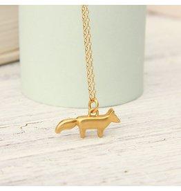Golden Fox Necklace