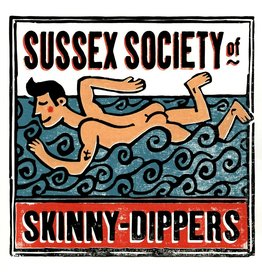 Sussex Society of Skinny Dippers Large Poster