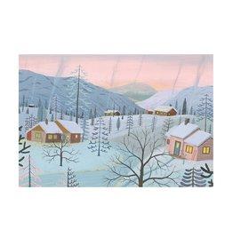 Snowscene - Evening Calm