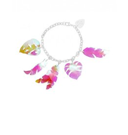 Tropical Leaves Bracelet