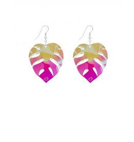 Tropical Leaves Earrings