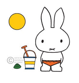 Miffy at the Beach
