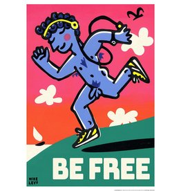 Be Free Jogger Small Poster