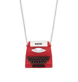 Typewriter Necklace