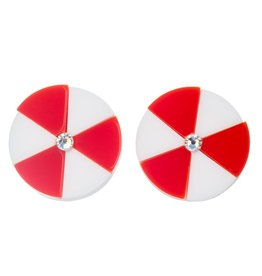 """Beach Life"" Beachball Earrings"