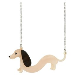 """Sausage"" Dachsund Necklace"