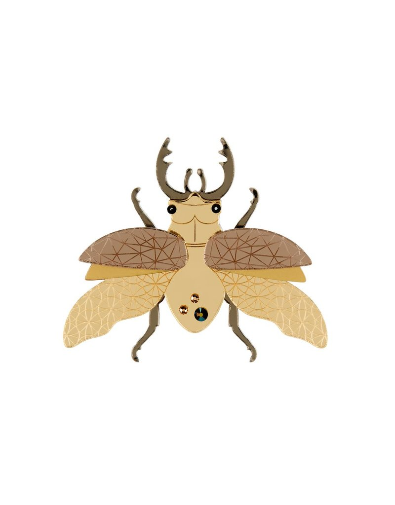 """""""Insect"""" Large Brooch"""