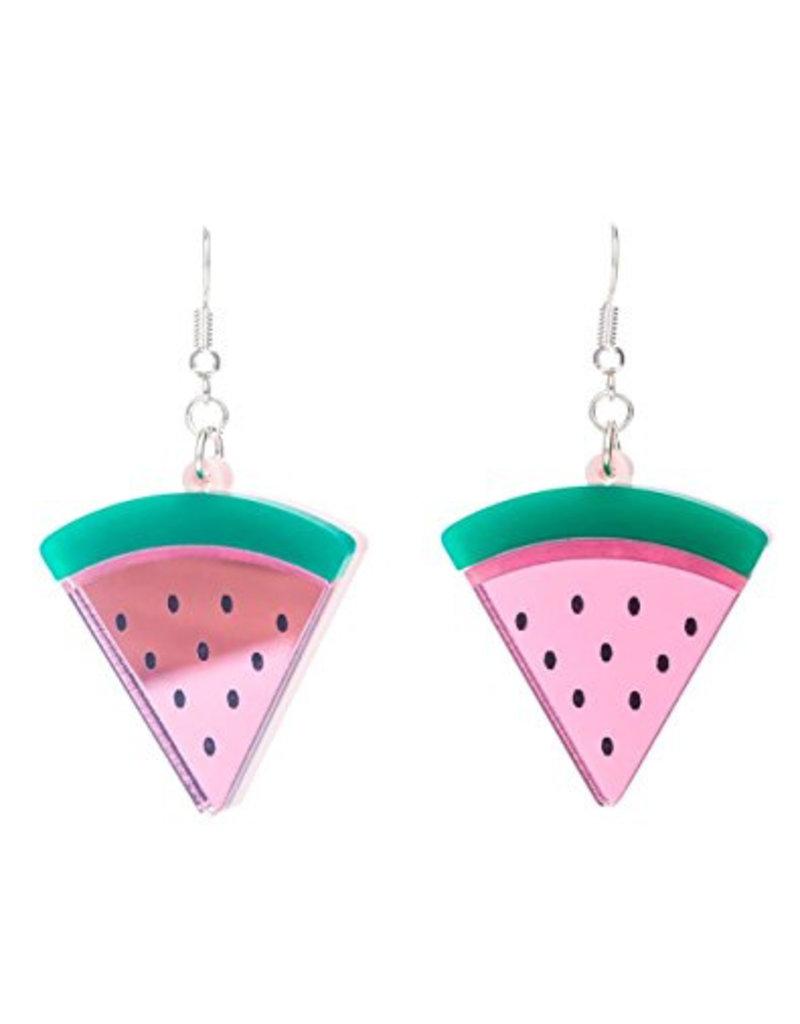 """Beach Life"" Watermelon Earrings"