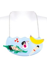 """Beach Life"" Scene Necklace"