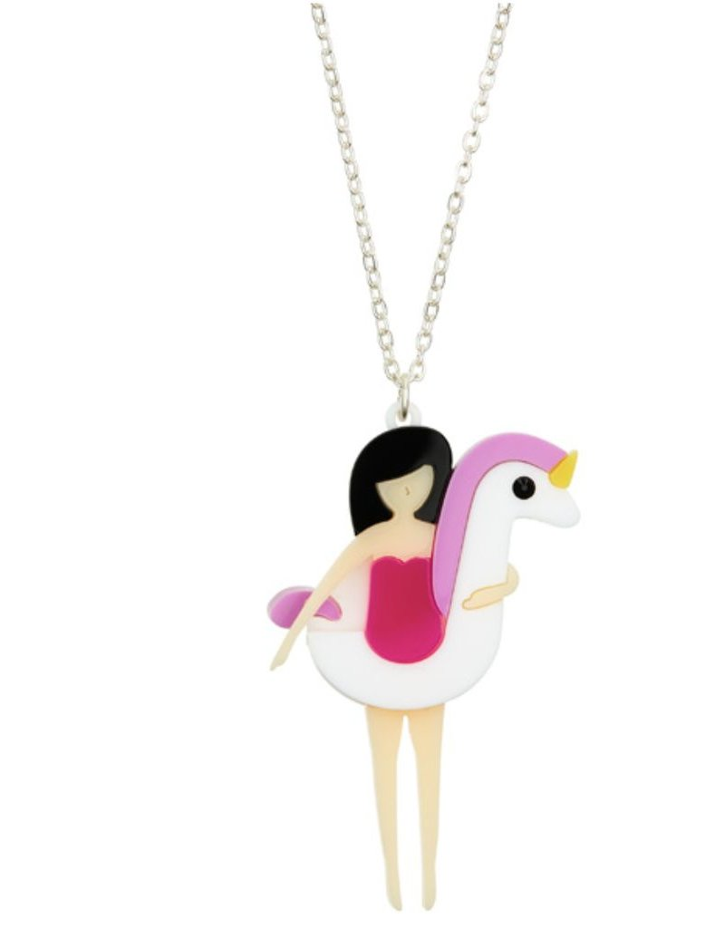 """Beach Life"" Unicorn Necklace"